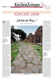 KIRCHE 2000 - Morus Verlag