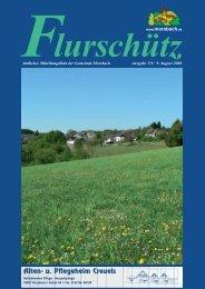 Ausgabe 176 vom 09.08.2008 - Gemeinde Morsbach