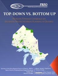 Top-Down vs. Bottom Up: Working Towards Consensus ... - CASIOPA