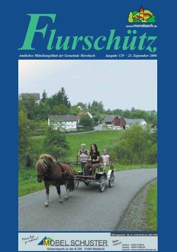 129. Ausgabe vom 23.09.2006 - Gemeinde Morsbach