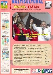 Revista_14_Edição_Nov_ 2010 - Revista Multicultural Brasil & Italia