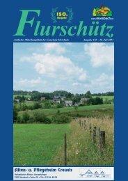 072594 Flurschuetz 150.indd - Gemeinde Morsbach
