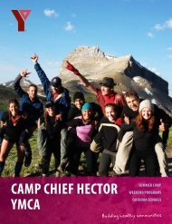 program guide - YMCA Calgary