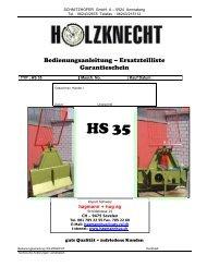 Bed_ET Liste HS 35 - Hagmann + Hug AG
