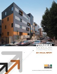 2011 Permanent Modular Construction Annual Report