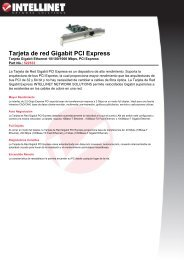 Tarjeta de red Gigabit PCI Express - PCDeacitec