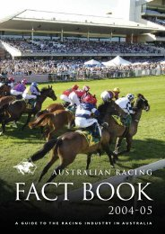 Pages 1-33 - Australian Racing Board