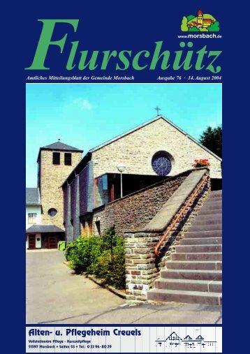Flurschuetz 76 2004 - Gemeinde Morsbach
