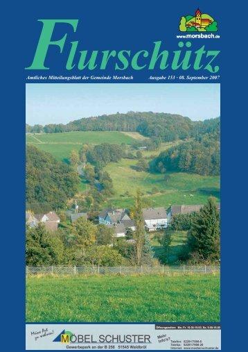072885 Flurschuetz 153.indd - Gemeinde Morsbach