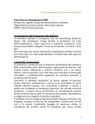 Crisis Risk Management - TimeOut intensiva