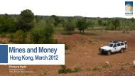 Mines and Money - West African Resources