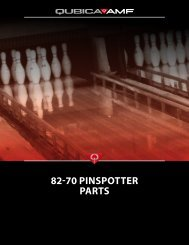 82-70 PINSPOTTER PARTS - BOWLING-PITER.ru