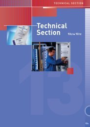 Technical Section 13.2 to 13.12 - Connex Telecom