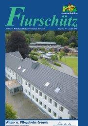 98. Ausgabe vom 02.07.2005 - Gemeinde Morsbach