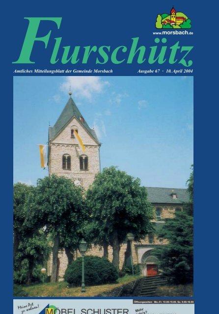 67. Ausgabe vom 10.04.2004 - Gemeinde Morsbach