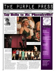 """VOLUME 9, ISSUE 6 """"Home of the Phantoms"""" - Phoenixville Area ..."""