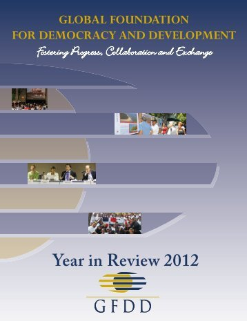 Year in Review 2012 - GFDD