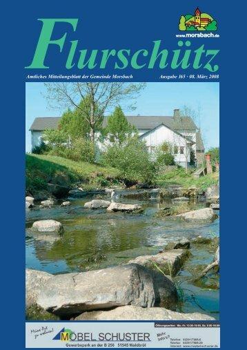 080620 Flurschuetz 165.indd - Gemeinde Morsbach