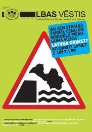 LBAS Vēstis Nr. 137 - Latvijas Brīvo Arodbiedrību Savienība