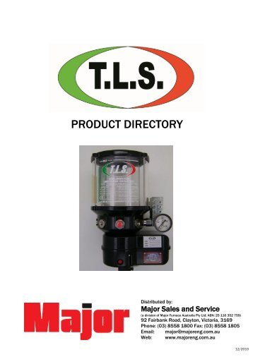 tls tecnolubrisystem - Major Furnace Australia provides thermal and ...