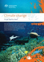 Climate change - Great Barrier Reef Marine Park Authority