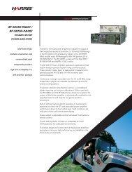 RF-5833H-PA001 / RF-5833H-PA002 150 Watt HF / VHF Power ...