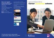 Career mentoring scheme