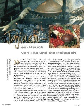 Tajine mit Pfifferlingen und Lachs in Senf-Zitronen ... - Ali Baba Tajine