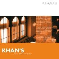 KHAN'S - Khan's