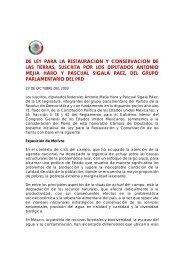 Iniciativa de Ley para la Restauración y Conservación de las Tierras