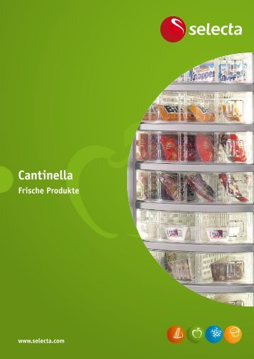 Prospekt Cantinella - Selecta Deutschland GmbH