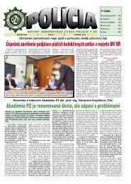 policia01/12 - Odborový zväz polície v Slovenskej republike