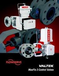 Valtek MaxFlo 3 Control Valves - Nooneycontrols.com