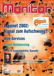 Die komplette MONITOR-Ausgabe 2/2002 können Sie