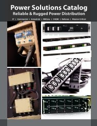 Power Solutions Catalog - Power Solutions by API Technologies