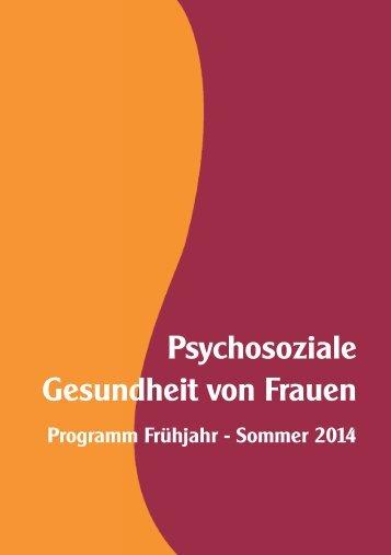 Psychosoziale Gesundheit von Frauen - Frauenzentrum St. Pölten