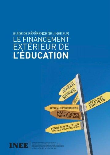 L'ÉDUCATION - INEE Toolkit