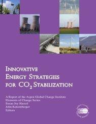 Innovative Energy Strategies for CO2 Stabilization - Aspen Global ...