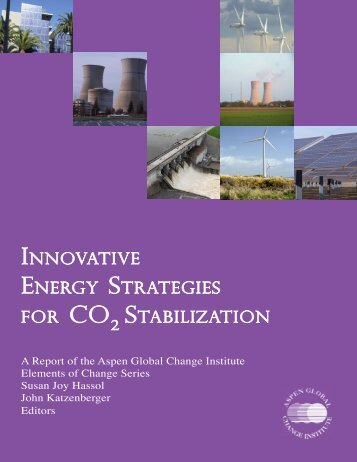 Innovative Energy Strategies for CO2 Stabilization - Aspen Global ...