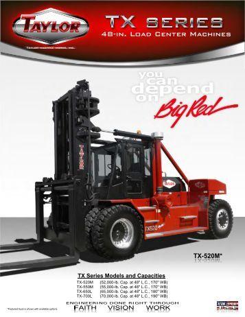 48-in. Load Center Machines - Taylor Machine Works