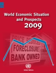 World Economic Situation and Prospects 2009