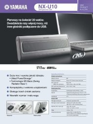 NX-U10 20W głośniki USB - AUDIO KLAN