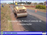 4-Execução na Pista e Controle de Compactação pdf - DER