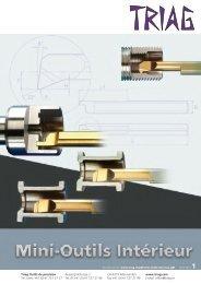 Mini outils intérieur, affiche PDF - TRIAG AG