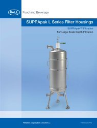 SUPRApak L-WA_1559 Aria Small Flow Sheet - Pall Corporation