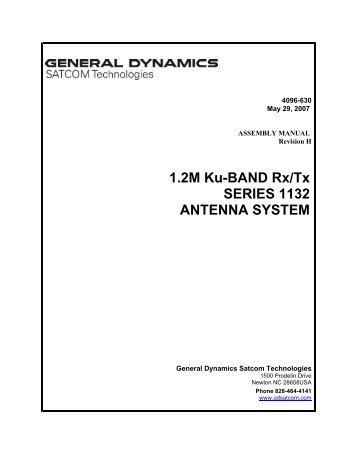 4096-630 - General Dynamics SATCOM Technologies
