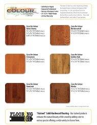 Casa de Colour Catalog Page - Lumber Liquidators