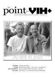 Dossier « 50 ans et plus - Portail VIH / sida du Québec