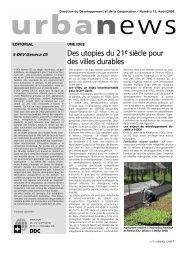 Des utopies du 21e siècle pour des villes durables - Cooperation at ...