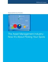 The Asset Management Industry: Now It's About Picking Your Spots